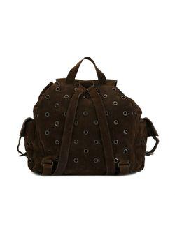 Рюкзак С Люверсами Prada                                                                                                              коричневый цвет