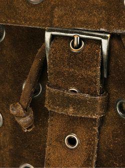 Рюкзак С Люверсами PRADA VINTAGE                                                                                                              коричневый цвет