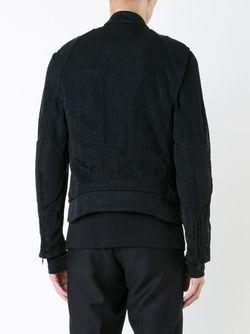 Легкая Куртка Ann Demeulemeester                                                                                                              чёрный цвет