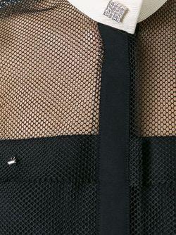 Рубашка С Контрастным Воротником Lanvin                                                                                                              чёрный цвет