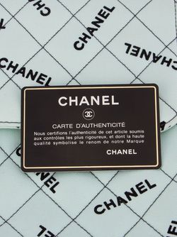 Стеганая Сумка На Плечо Chanel Vintage                                                                                                              зелёный цвет