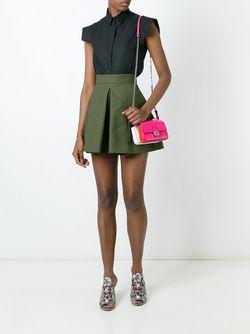 Микро Сумка Через Плечо Fashion Show Double Fendi                                                                                                              розовый цвет
