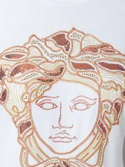 Футболка Medusa Versace                                                                                                              красный цвет
