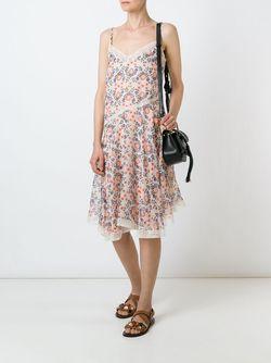 Платье С Цветочным Принтом P.A.R.O.S.H.                                                                                                              многоцветный цвет