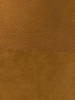 Перфорированное Кожаное Платье MAJESTIC FILATURES                                                                                                              коричневый цвет