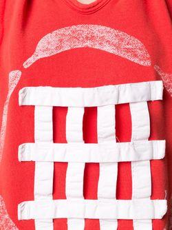 Толстовка Без Рукавов Bernhard Willhelm                                                                                                              красный цвет