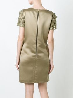 Платье С Лазерной Перфорацией Marco Bologna                                                                                                              зелёный цвет