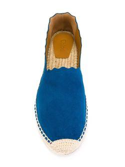 Эспадрильи Lauren Chloe                                                                                                              синий цвет