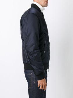Куртка-Бомбер Military Dsquared2                                                                                                              синий цвет
