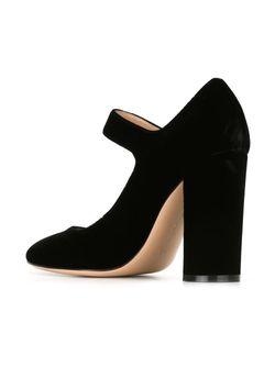 Туфли Lorraine Gianvito Rossi                                                                                                              черный цвет