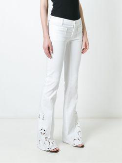 Расклешенные Джинсы THE SEAFARER                                                                                                              белый цвет
