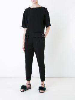Tapered Trousers Muveil                                                                                                              черный цвет