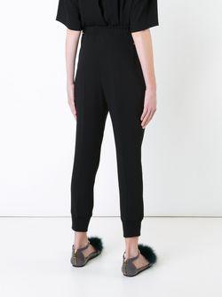 Tapered Trousers Muveil                                                                                                              чёрный цвет