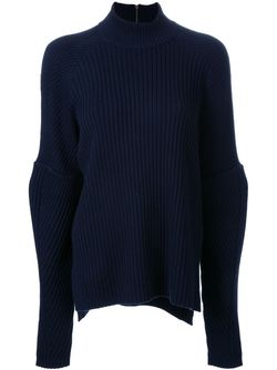 Ribbed Jumper Muveil                                                                                                              синий цвет