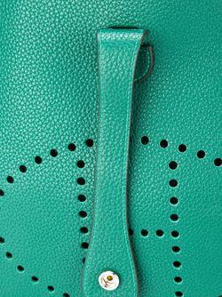Сумка На Плечо Evelyne Tpm Hermès Vintage                                                                                                              зелёный цвет
