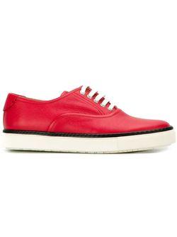 Кроссовки Дизайна Колор-Блок Hermès Vintage                                                                                                              красный цвет