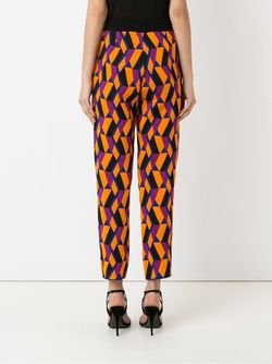 Geometric Knit Trousers Gig                                                                                                              желтый цвет