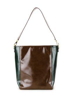Сумка-Тоут С Цветочной Аппликацией Muveil                                                                                                              коричневый цвет