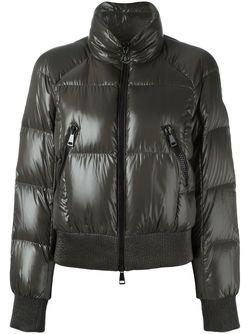Стеганая Куртка Бомбер Iris Moncler                                                                                                              зелёный цвет