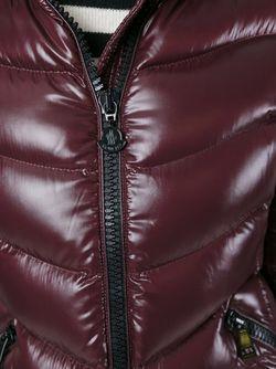 Пуховик Anthia Moncler                                                                                                              красный цвет