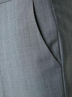 Классические Брюки Строгого Кроя Maison Kitsune                                                                                                              серый цвет