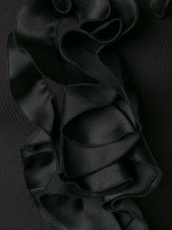 Топ С Рюшами Спереди Mary Katrantzou                                                                                                              черный цвет