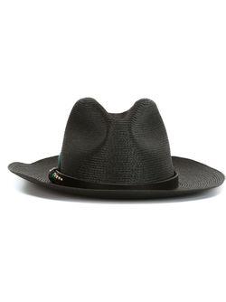Шляпа С Ремешком С Заклепками HTC Hollywood Trading Company                                                                                                              черный цвет