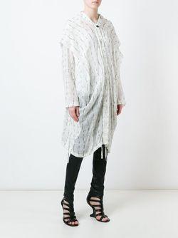 Свободное Пальто Ann Demeulemeester                                                                                                              белый цвет