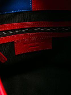 Сумка-Хобо В Стиле Колор-Блок J.W. Anderson                                                                                                              красный цвет