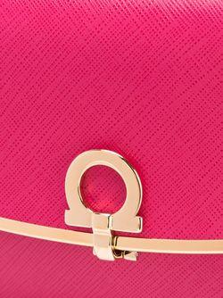 Клатч На Цепочке Salvatore Ferragamo                                                                                                              розовый цвет