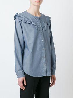 Рубашка Niki Mih Jeans                                                                                                              синий цвет
