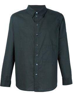 Рубашка С Нагрудным Карманом BY WALID                                                                                                              черный цвет