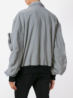 Куртка Бомбер С Карманами Wanda Nylon                                                                                                              серый цвет