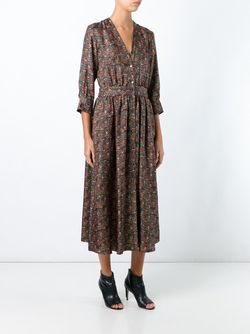 Платье С Узором Vanessa Bruno                                                                                                              чёрный цвет