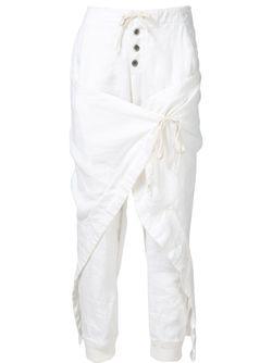 Брюки Warrior Lounge GREG LAUREN                                                                                                              белый цвет