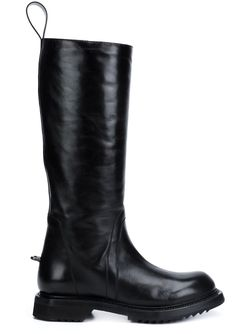 Высокие Сапоги Rick Owens                                                                                                              чёрный цвет