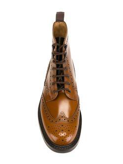 Ботинки С Вырезными Деталями Church'S                                                                                                              коричневый цвет