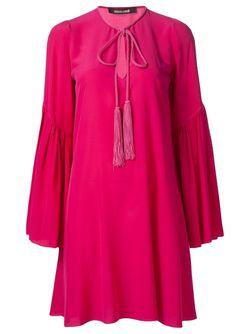 Платье Свободного Кроя Roberto Cavalli                                                                                                              розовый цвет