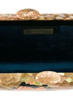 Клатч Из Перламутра SERPUI                                                                                                              Nude & Neutrals цвет