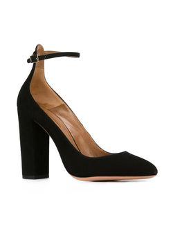 Туфли С Завязками На Щиколотке Aquazzura                                                                                                              чёрный цвет