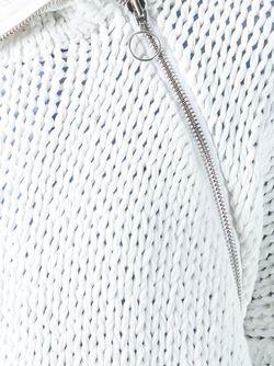 Свитер С Асимметричной Молнией Marques Almeida                                                                                                              белый цвет