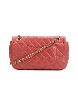 Стеганая Сумка Через Плечо Chanel Vintage                                                                                                              красный цвет