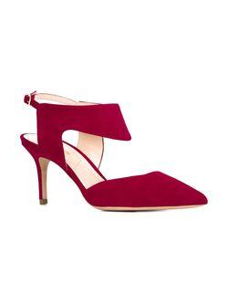 Туфли На Шпильках Leda Nicholas Kirkwood                                                                                                              красный цвет