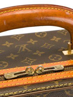 Чемодан С Монограммным Узором LOUIS VUITTON VINTAGE                                                                                                              коричневый цвет