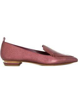 Лоферы Beya Botalotto Nicholas Kirkwood                                                                                                              розовый цвет
