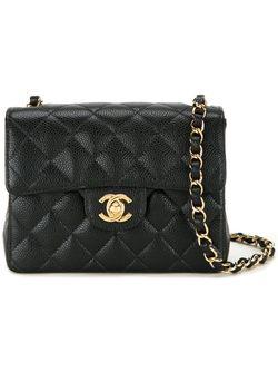 Сумка На Плечо Мини Chanel Vintage                                                                                                              чёрный цвет