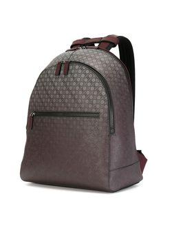 Рюкзак С Принтом Gancio Salvatore Ferragamo                                                                                                              коричневый цвет