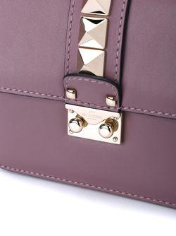 Сумка Через Плечо Glam Lock Valentino                                                                                                              розовый цвет