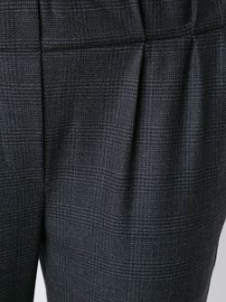 Укороченные Брюки Прямого Кроя Brunello Cucinelli                                                                                                              серый цвет