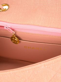 Сумка На Плечо Diana Chanel Vintage                                                                                                              розовый цвет